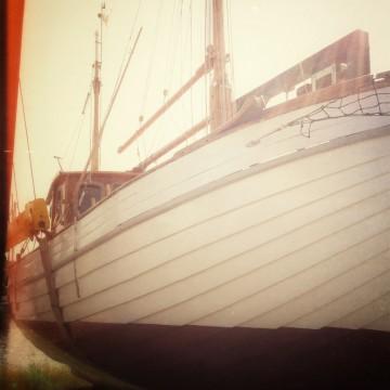 Rikke auf der Werft im Spätsommer 2013